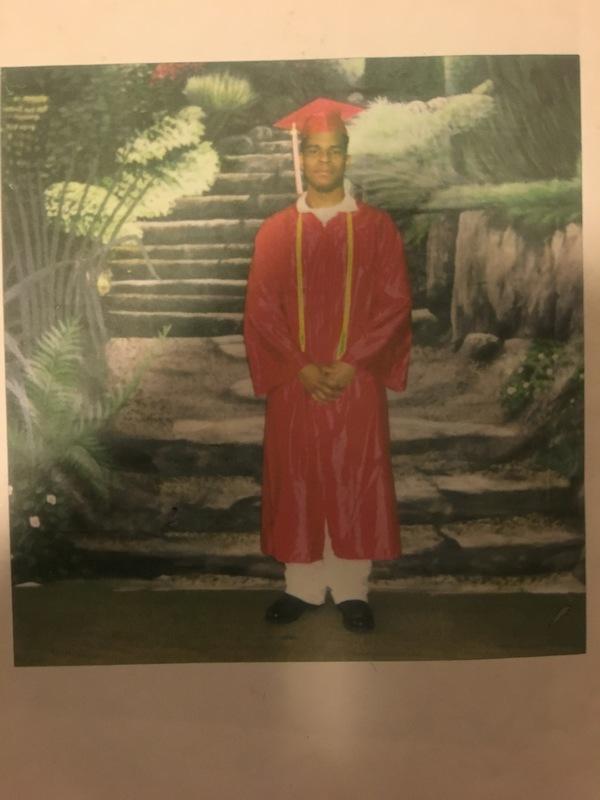 Richard Miles Associate Degree Graduation