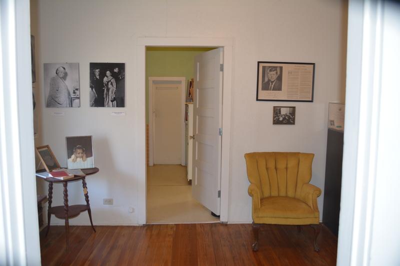 Interior scene of Juanita Craft's house