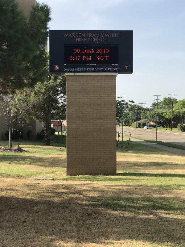 Warren Travis White High School. (Photo: Ryan Holmes)