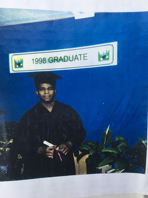 Richard Miles GED Graduation